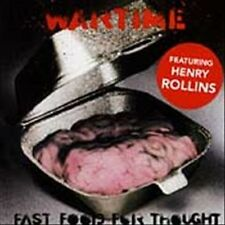 Henry Rollins - Fast Food For Thought (1994) - Used - Compact Disc