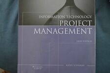 Information Technology Project Management by Kathy Schwalbe (2007, Paperback)