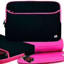 Pink Soft Neoprene Sleeve Pocket Case for HP Chromebook 14 14-inch Laptop