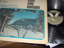 """LP 12"""" NUOVO CORO MONTASIO DI TRIESTE LASSU SULLE MONTAGNE M.O BRACCHI N/MINT"""