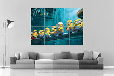 Minions Ouvrier  Despicable Me Wall Poster Art Grand format A0 Large Print