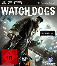 Sony Playstation 3 PS3 Spiel Watch Dogs USK 18