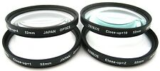 4PCS CLOSE-UP MACRO LENS SET +1 +2 +4 +10 for NIKON FM10