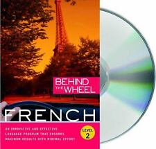French, Level 2 by Behind the Wheel Staff (2009, CD, Unabridged)