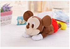 Disney mickey mouse lying  plush tissue box holder cover decorate gift