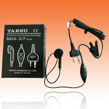 YAESU MH-37B2B Lapel Ear Mic for FT-411 FT-11 FT-530 FT-51 FT-23 FT-811 FT-33