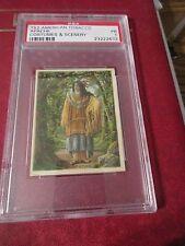 1912 T52 American Tobacco Costumes & Scenery Apache PR 1