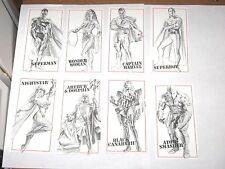 1995 DC Kingdom Come EXTRA Xtra SKETCHBOARD CHASE INSERT COMPLETE SET! SUPERMAN!