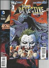 Detective Comics #1,19(80 page spectacular) 1st Printing (2011, New 52) VF