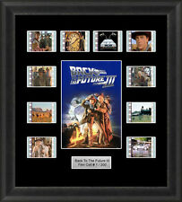 BACK TO THE FUTURE 3 MOUNTED FRAMED 35MM FILM CELL MEMORABILIA