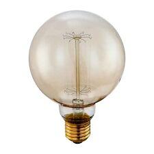E27 Leuchtmittel Edison Globe / 60W / 240 Lumen / extra warm