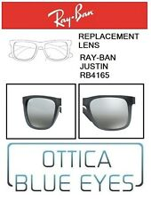 Lenti di Ricambio RAYBAN JUSTIN RB 4165 filtri Replacement Lenses Ray Ban 852/88