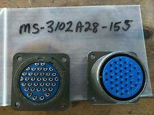 Amphenol MIL MS-3102A28-15S Circular Connector SOCKET