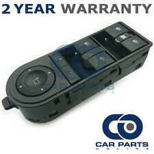 ELECTRIC POWER MASTER WINDOW SWITCH PANEL FOR VAUXHALL OPEL ZAFIRA 2005 On