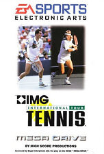 ## SEGA Mega Drive - IMG: International Tour Tennis - TOP / MD Spiel ##