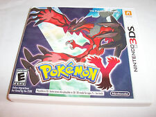 Pokemon Y Nintendo 3DS XL 2DS Game w/Case & Manual