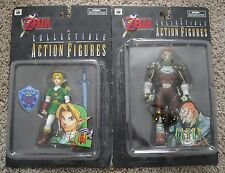 ZELDA THE OCARINA OF TIME LINK AND GANON FIGURES NEW RARE GANONDORF NINTENDO 64