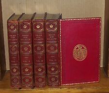 Reign of the Stuarts. Jesse. 1840. Signed Bindings. 4 vol.