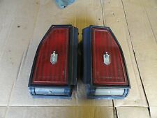 OEM 1981-1987 Chevrolet Monte Carlo SS Stop Brake Tail lights Taillights SET