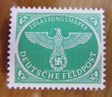EBS Germany 1944 Military Parcel Post Stamp Feldpost Xmas version MNH**