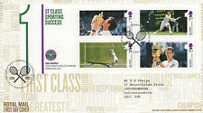 "GB FDC 2013 ""ANDY MURRAY"" MS-SP/HS"