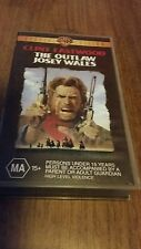 THE OUTLAW JOSEY WALES - CLINT EASTWOOD VHS VIDEO TAPE