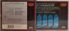 DONIZETTI-LUCIA DI LAMMERMOOR-SCOTTO PAVAROTTI -MOLINARI PRADELLI 2-CD-BOX(W136)