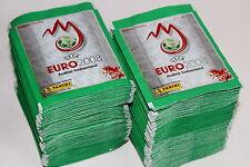 Panini EM Euro 2008 08 – 200 TÜTEN PACKETS BUSTINE SOBRES, SHINY GREEN, MINT!