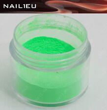 """PROFESIONAL Polvo acrílico de color """"NAIL1EU Neón Verde"""" 7g/ acrílico,"""