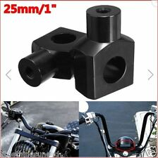 "Motorcycle,3"",high,1"",Black,Handlebar,Risers,chop,trike,hog,rat,harley,project,"