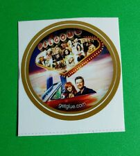 "CMT BLAKE SHELTON REBA MCINTYRE PHOTO TV SMALL 1.5"" GETGLUE GET GLUE STICKER"