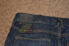 Rugby Ralph Lauren New With Tags Boyfriend Slim Fit Denim Blue Skinny Size 26