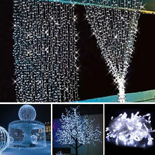 10M 100 LED Fairy String Light Party Christmas Wedding Decor Outdoor Lamp Lights