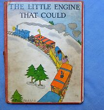THE LITTLE ENGINE THAT COULD: WATTY PIPER, LOIS LENSKI 1930 HC 1st Ed 1st STATE