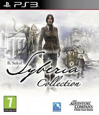 Syberia Complete Collection [PlayStation 3 PS3, Region Free, Syberia 1 & 2] NEW