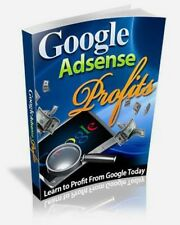 Google AdSense Profits (E-Book) + RESELL RIGHTS - HOW TO MAKE MONEY ONLINE