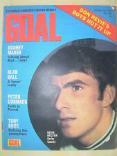 GOAL MAGAZINE JANUARY 29 1972 BLACKPOOL - HALIFAX TOWN - KEVIN HECTOR