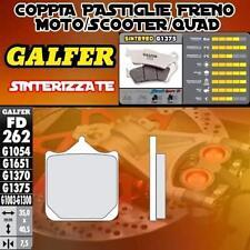 FD262G1375 PASTIGLIE FRENO GALFER SINTERIZZATE ANTERIORI PER TM SMM  125 2014