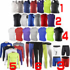 Mens Compression Base Layer Sports Shirts Tight Shorts Long Pants Gym Tank Tops