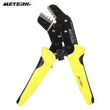 New Wire Crimper Engineering Ratchet Terminal Crimping Pliers Tool 24-10AWG S3K9