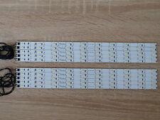 50 x LED Waggon Beleuchtung 285 mm warm-weiss  kürzbar + Anschusskabel angelötet