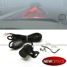 Fit Speed Red Laser Anti Rear End Crash Caution Driving Fog Light Tail Lamp