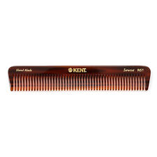 Kent Comb R5T 175mm Handmade Womens Medium Coarse Tooth Thick Hair Comb