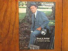 February 23, 1986 Chicago Tribune TV Week Mag(KRIS KRISTOFFERSON/BLOOD & ORCHIDS