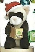 Aurora Plush  Wildlife Caroler Musical  Raccoon   ,NEW  by Aurora