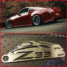 Nissan 350Z Nismo Z33 Stainless Steel Custom Key chains JDM