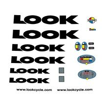 LOOK KG281 Bicycle Frame Stickers - Decals - Transfers n.20