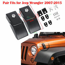 Unlimited Steel Locking Hood Lock Latches Fit Jeep Wrangler JK 07-15 13 14