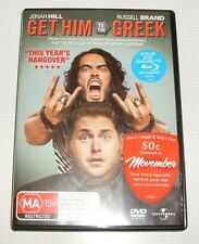 DVD - Get Him to the Greek - Russell Brand - Jonah Hill - 104 minutes