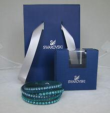 SWAROVSKI SLAKE DELUXE BRACELET (Turquoise/5043496) NEW BOXED GIFT BAG RRP£59